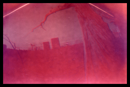 Solargraph 4, taken with a film canister camera