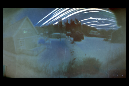 Solargraph 1, taken with a film canister camera