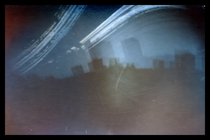 Solargraph 5, taken with a film canister camera
